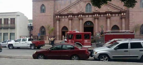 """""""Continúa la vida"""" en Matamoros tras incidentes explosivos en iglesias"""