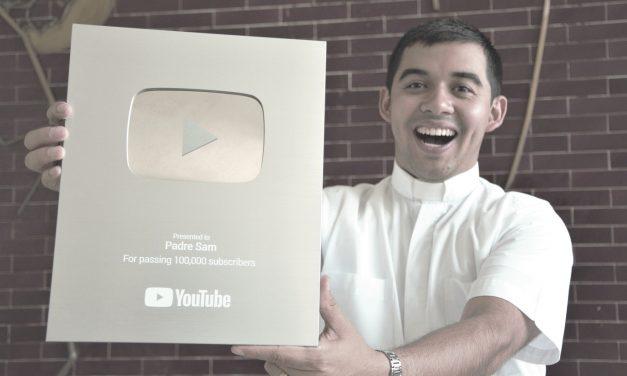 Padre Sam gana el botón de plata de YouTube