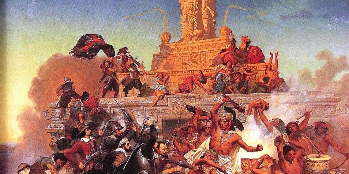 El estertor de la guerra por Tenochtitlan