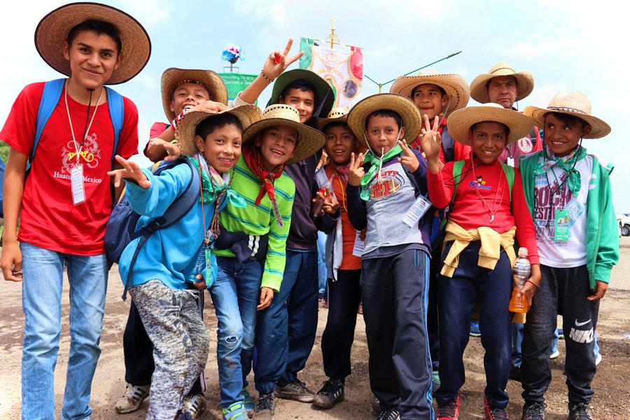 Querétaro peregrino : Nada los detiene rumbo al Tepeyac