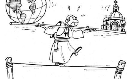 Ser el obispo de Roma no es fácil