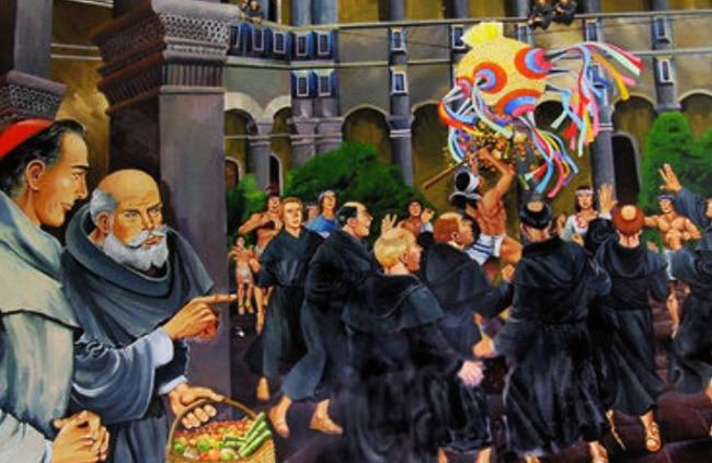 Los textos antiguos dan testimonio del regocijo en México por la fiesta del nacimiento de Cristo