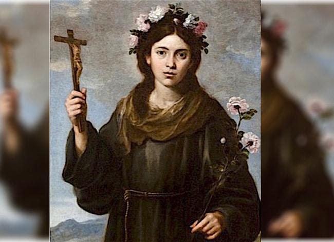 A propósito, ¿quién fue santa Rosa de Viterbo?