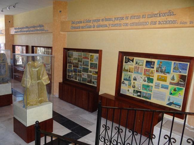 El Museo de los Milagros en el Santuario de Soriano
