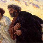 Magdalena, Pedro, Juan y la fe de los fariseos