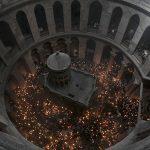 El prodigio del Fuego Santo en Jerusalén