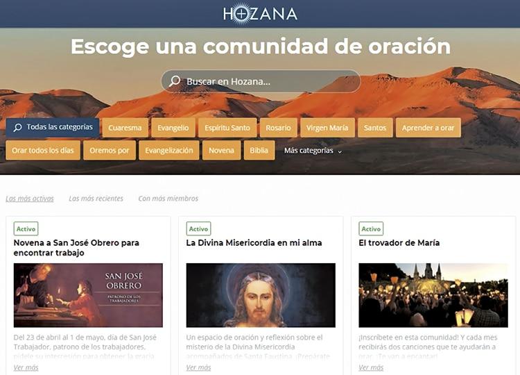 Hozana: la red social para orar en comunidad