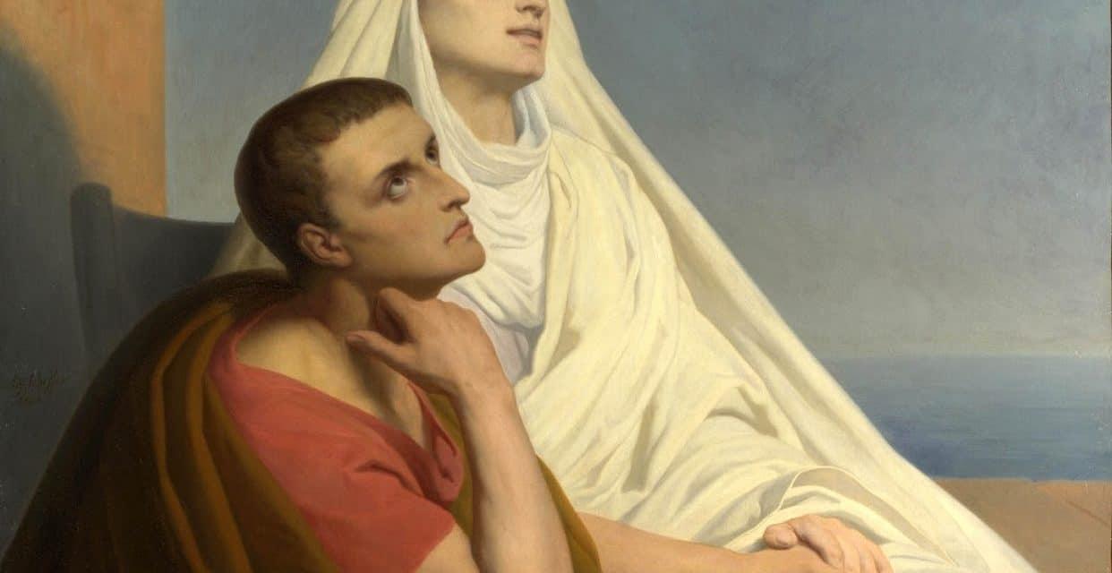 Santa Mónica y san Agustín, madre e hijo