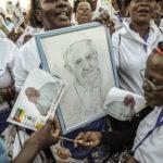 El Papa Francisco hizo brillar el oro escondido de África