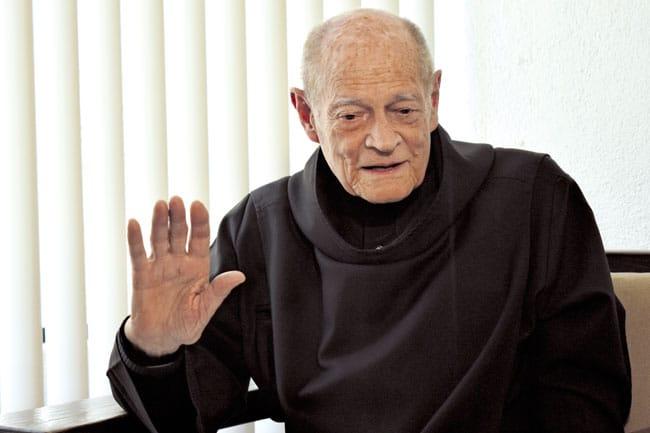 Fray Gabriel, el artesano benedictino