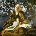 La muerte de Teresa, el almendro y las reliquias