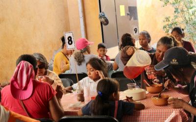 Comedor san Junípero Serra, una obra de los fieles
