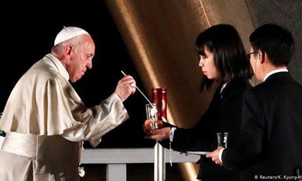 Papa Francisco en Hiroshima: El uso de energía atómica para la guerra es inmoral