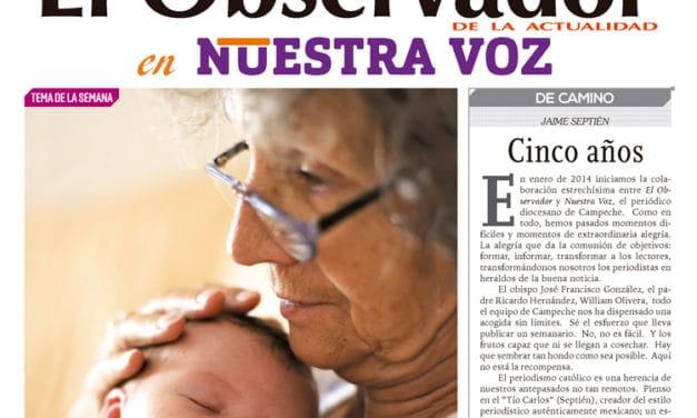 Cinco años en Campeche