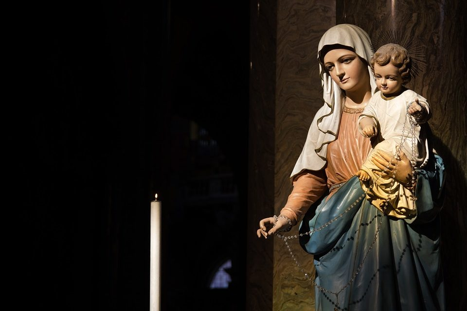 Un gracias a la Virgen María