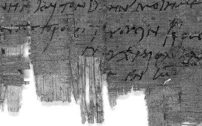 La carta más antigua entre cristianos, identificada en Suiza