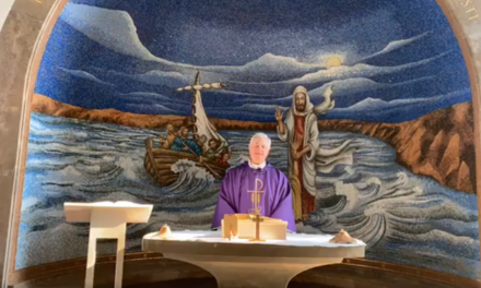 En esta Cuaresma y Cuarentena: la misa desde Tierra Santa