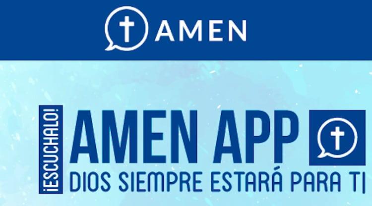 """AMEN, la """"app"""" de la fe, la oración y las respuestas"""