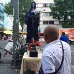 El culto a la santa muerte se mantiene en la pandemia