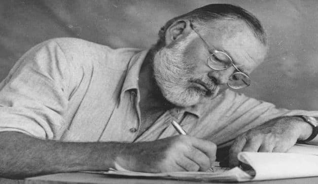 La portentosa obra del escritor Ernest Hemingway