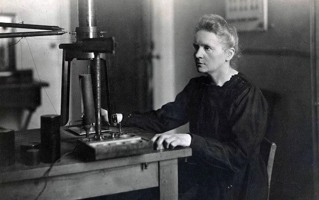 Marie Curie: temple de acero