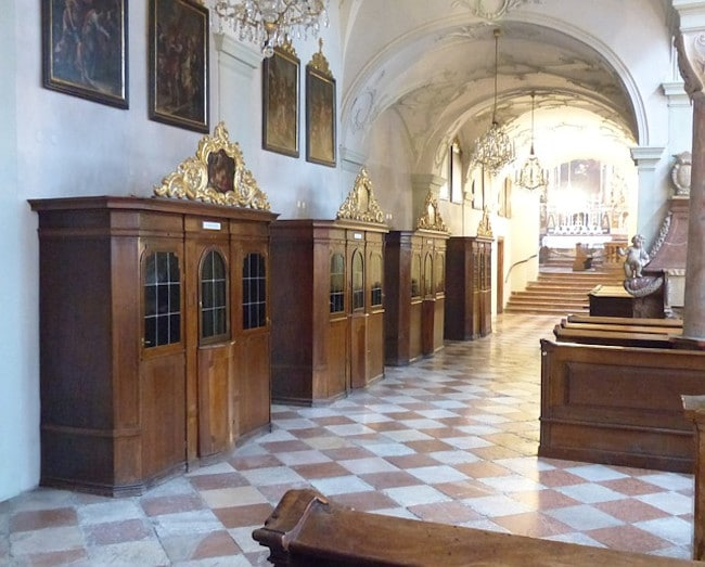 Cuando la Confesión no está al alcance