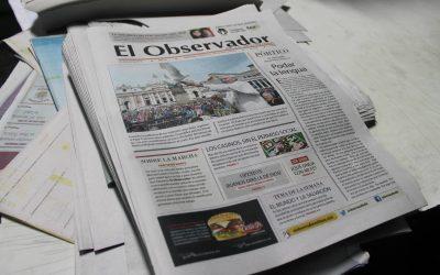 """Pienso que ¡un periodismo así no debe morir!"": Mario De Gasperín"