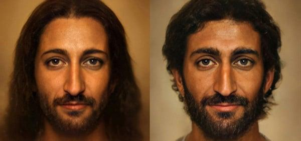 """Los modernos retratos """"verdaderos"""" del Señor"""