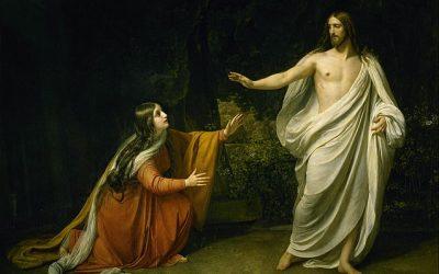 Estremecimiento ante Cristo resucitado