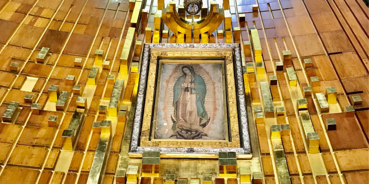 La Morenita del Tepeyac acompaña a los mexicanos hacia su propia libertad