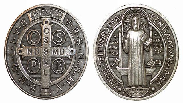 Una medalla y un compromiso: que la Cruz sagrada sea mi luz