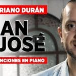 Tres canciones a san José en piano, por Mariano Durán