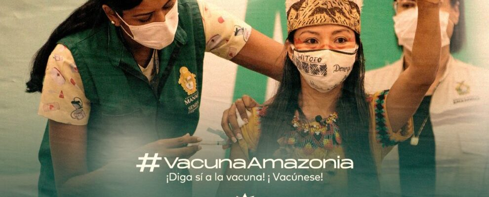 La REPAM lanza la campaña #VacunaAmazonia pidiendo más vacunas y mayor conciencia