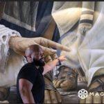 Es un poco la imagen que Cristo nos da al momento que tocamos algo de Él: Daniel Cariola