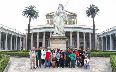 """Peregrinos en Roma y Tierra Santa, """"signo de esperanza"""""""
